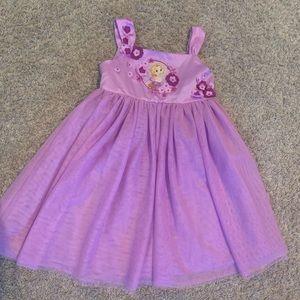 Disneystore Rapunzel Dress for Girls Sz 5/6💜